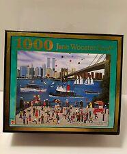 "Jane Wooster Scott Americana Puzzle ""Beneath The Brooklyn Bridge""  New"