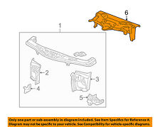 Pontiac GM OEM 06-09 Torrent Radiator Core Support-Support Cover 15893538