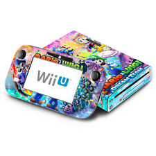 Skin Decal Cover for Nintendo Wii U Console & GamePad - Mario & Luigi Dream Team