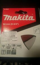 MAKITA B-22947 DELTA RED SANDING SHEETS 100 GRIT (PACK OF 10 PZ)