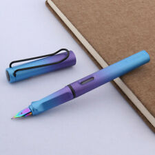 new blue purple Transformation gift Writing student Nib Fountain Pen