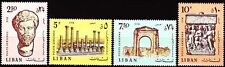 Libanon Lebanon 1968 ** Mi.1045/48 Ausgrabungen Excavations Tyros