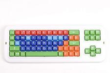 Clevy Colored Wired Keyboard -  Lowercase Colorful Keys