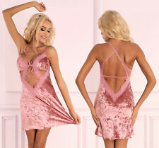 LIVCO CORSETTI Cadrean Luxury Super Soft Chemise and Matching G-String Set