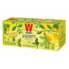 Wissotzky Magical Garden Lemon & Mint Infusion Decaff Kosher Product 25 Bags