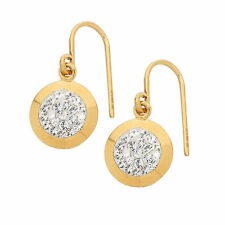 Yellow Gold Filled Religious Fashion Earrings