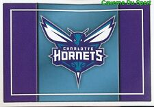 151 TEAM LOGO USA CHARLOTTE HORNETS STICKER NBA BASKETBALL 2017 PANINI