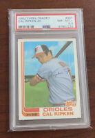 1982 Topps Traded Cal Ripken Jr. ROOKIE RC #98T PSA 8.5 Looks like 9! 🔥