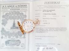 A.Lange and Sohne Original 14K pure Gold Hunter pocket watch No 174
