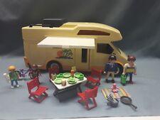 3647 PLAYMOBIL Family-Wohnmobil  Caravan  Wohnwagen + Zubehör 6671 4859 **ÜÜ**