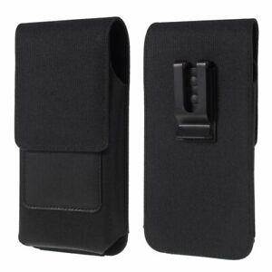 for LG Xpress Plus 3 (2020) Case Metal Belt Clip Card Holder Vertical Textile...