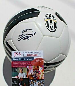 Sebastian Giovinco Signed Juventus Soccer Ball w/JSA COA DD22648 Toronto FC