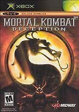 Mortal Kombat: Deception (Original XBOX - Black Label 2004) LikeNew **FREE Ship!