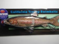 Morone Swimbaits  Wounded Trout 7 Inch Glide Bait Herring swimbait striper bass