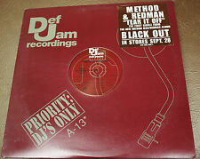 "METHOD MAN REDMAN ""TEAR IT OFF"" vinyl 12"" PROMO single EX/VG"