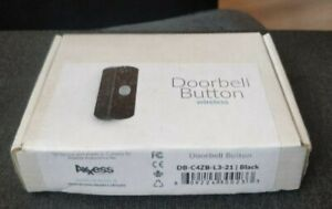 Axxess DB-C4ZB-L3-21 Wireless Doorbell Button For Control4 Home Automation