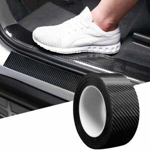 300CM 5D Carbon Fiber Strip Car Door Protector Sill Scuff Cover Sticker