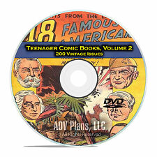 Teenager Comic Books, Vol 2, Punch and Judy, Super Circus, Golden Age DVD D55