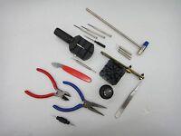 Seiko Rolex Omega Tudor Watch Opener Tool Kit 18pc Repair Pin Remover+FREE SHIP
