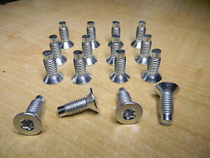 16 Each 1976-2006 JEEP CJ / YJ / TJ  WRANGLER   WINSHIELD TORX SCREW KIT * NEW *
