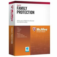 McAFEE Internet Family Protection 3 User 1 Year Parental Control Software