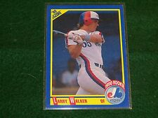 larry walker  (MONTREAL EXPOS-OF) 1990 score ROOKIE CARD #631 MINT CONDITION