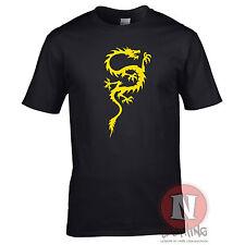 dragón chino Cool Oriental Asiático Kung Fu Camiseta Artes Marciales China Korea
