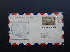 CANADA NORTH WEST TERRITORIES 1929 FORT McPHERSON/FORT McMURRAY FLIGHT COVER IGL