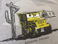 ORG.Disneyland RADIATOR SPRINGS RACING Route 66 Kansas To Arizona Mens T-shirt M