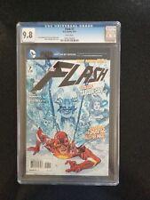 FLASH # 7 / The new 52! / CGC UNIVERSAL 9.8 / MAY 2012 / DC COMICS