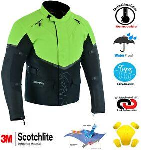Visio Motorbike Waterproof Jacket Waterproof Breathable CE
