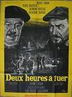 DEUX HEURES A TUER Affiche Cinéma / Movie Poster Pierre Brasseur 160x120