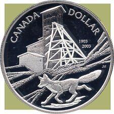 2003 Canada Proof Silver Collector Dollar (25.175 Grams .925 Silver)