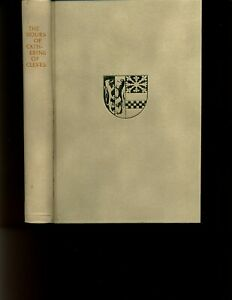 Book. The Hours of Catherine of Cleves 1966 in slipcase