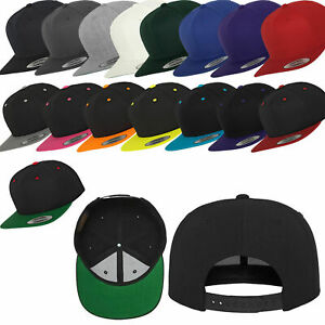 original Yupoong Flexfit Baseball Snapback Classic Caps 40 Farben