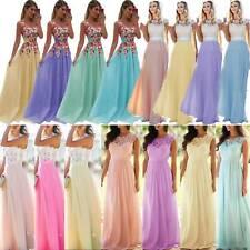 Kleid Lang Spitze In Brautjungfern Besonderne Anlasse Artikel Gunstig Kaufen Ebay