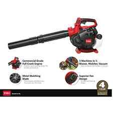 Toro 3-in-1 Pro Commercial Grade Handheld Gas Leaf Blower Vacuum Mulcher 2 Cycle