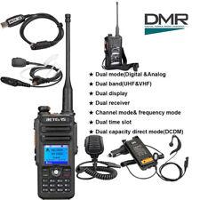 New Retevis RT82 UHF+VHF DMR 2200mAh 3000CH  Radio+RT82's Accessories CO