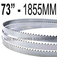 "Butchers Meat Bandsaw Blades (5 Pack). 73"" (1855mm) X 5/8"" X 4tpi"