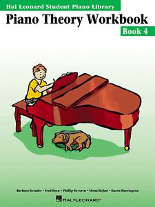 Hal Leonard Student Piano Library Piano Theory Workbook Book 4