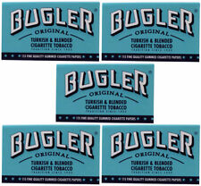 5 Pack Bugler Single Wide 70 mm Cigarette Rolling Papers 575 Leaves - 5023-5