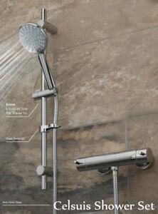 Vado Celsius thermostatic shower set – CEL-1701-1/2-11-C/P