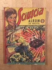 SCIUSCIA 1ère série - Album relié numéro 1 (1 à 13) - Sagedition - 1949 - BE
