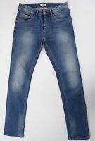 Tommy Hilfiger Jeans Slim Scanton W31 L34 31/34 blau stonewash gerade Denim X349