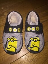 *MATALAN* GORGEOUS BOYS DESPICABLE ME 3 MINIONS SOFT SLIPPERS