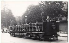 Repro Tram Photo, Colwyn Bay Toastrack Tramcar, c 1930's PC Size