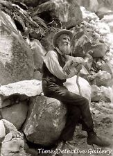 Conservationist John Muir in the Mountains - 1907 - Historic Photo Print