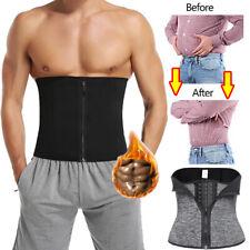 Men Waist Trainer Cincher Sweat Belt Tummy Control Slim Body Shaper Weight Loss
