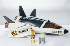 Vintage GI JOE - VEHICLE - 1989 Crusader Space Shuttle w/ Pilot Payload