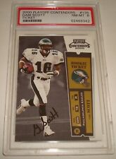 2000 Playoff Contenders autograph Gari Scott rookie ticket signature card#135